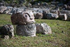Crâne de pierre Photos libres de droits