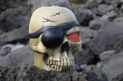 Crâne de pirate Photos stock