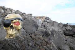 Crâne de pirate Photo stock