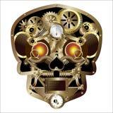 Crâne de punk de vapeur illustration stock