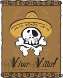 Crâne de villa de Viva Photo stock