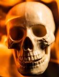 Crâne du feu Photos stock