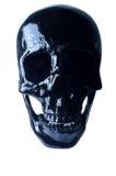 Crâne effrayant de veille de la toussaint Images stock