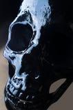 Crâne effrayant de veille de la toussaint Photos stock