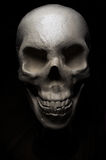 Crâne effrayant de veille de la toussaint Photos libres de droits