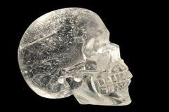 Crâne en cristal image libre de droits