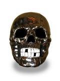 Crâne en métal Photographie stock libre de droits