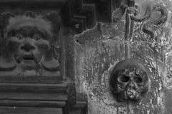 Crâne et ami 2 Image libre de droits