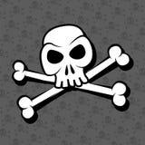 Crâne et os Image libre de droits