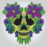 Crâne mort Images stock