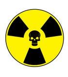 Crâne nucléaire Photos libres de droits