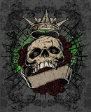 Crâne royal Photo libre de droits