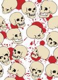 Crânes Photo libre de droits