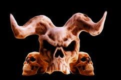 Crânes Image libre de droits