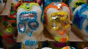 Crânes de sucre Photo stock