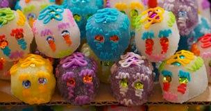 Crânes de sucre Photos libres de droits