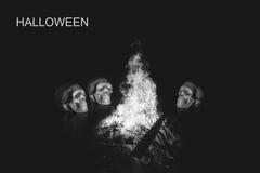 Crânes, fond de Halloween photos stock