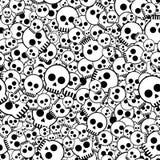 Crânes primitifs Images libres de droits