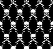 Crânes sans joint illustration stock