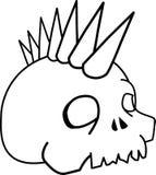 Crânio Ilustração Stock