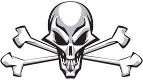 Crânio & ossos Imagem de Stock Royalty Free