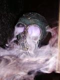Crânio assustador Fotografia de Stock Royalty Free