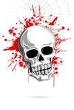 Crânio assustador ilustração stock