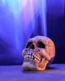 Crânio com formação da imagem roxa Imagem de Stock Royalty Free
