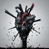 Crânio da morte Imagem de Stock