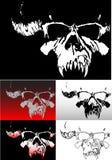 Crânio de Deamon Ilustração Stock