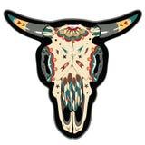 Crânio do búfalo ilustração royalty free