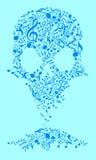 Crânio do hard rock Imagem de Stock