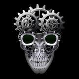 Crânio do punk do vapor ilustração do vetor