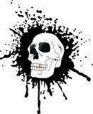 Crânio e sangue Fotografia de Stock