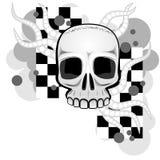 Crânio e tentáculos Imagens de Stock Royalty Free