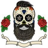 Crânio farpado Imagens de Stock Royalty Free