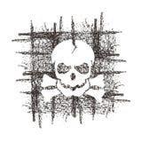 Crânio. Formato do vetor ilustração royalty free