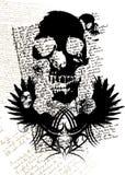 Crânio gótico Foto de Stock Royalty Free