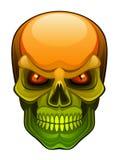 Crânio mau ilustração stock