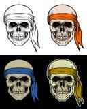 Crânio o grupo de carneiros do pirata Fotografia de Stock Royalty Free