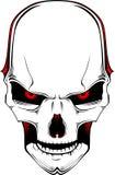 Crânio. Vetor Fotografia de Stock