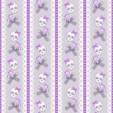 Crânios bonitos Fotografia de Stock Royalty Free