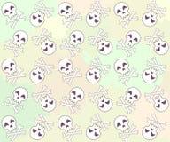 Crânios bonitos Imagem de Stock Royalty Free