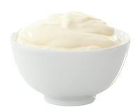 Crème aigre photographie stock