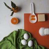 Crème anglaise Photo stock