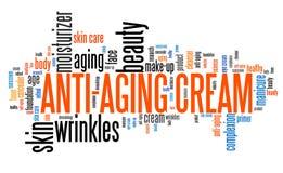 Crème anti-vieillissement Image stock