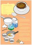 Crème Brûlée Photographie stock libre de droits