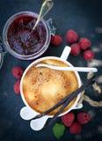 Crème brûlée Stock Photo