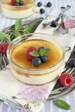 Crème-brulée Fotografia Stock
