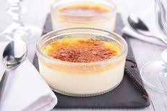 Crème brulée Images libres de droits